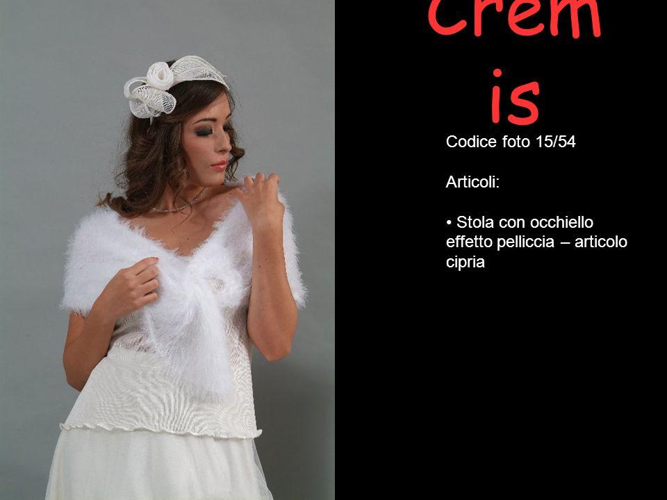 Cremis Codice foto 15/54 Articoli: