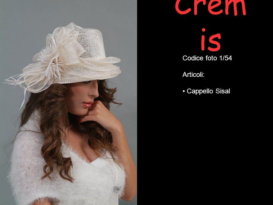 Cremis Codice foto 1/54 Articoli: Cappello Sisal