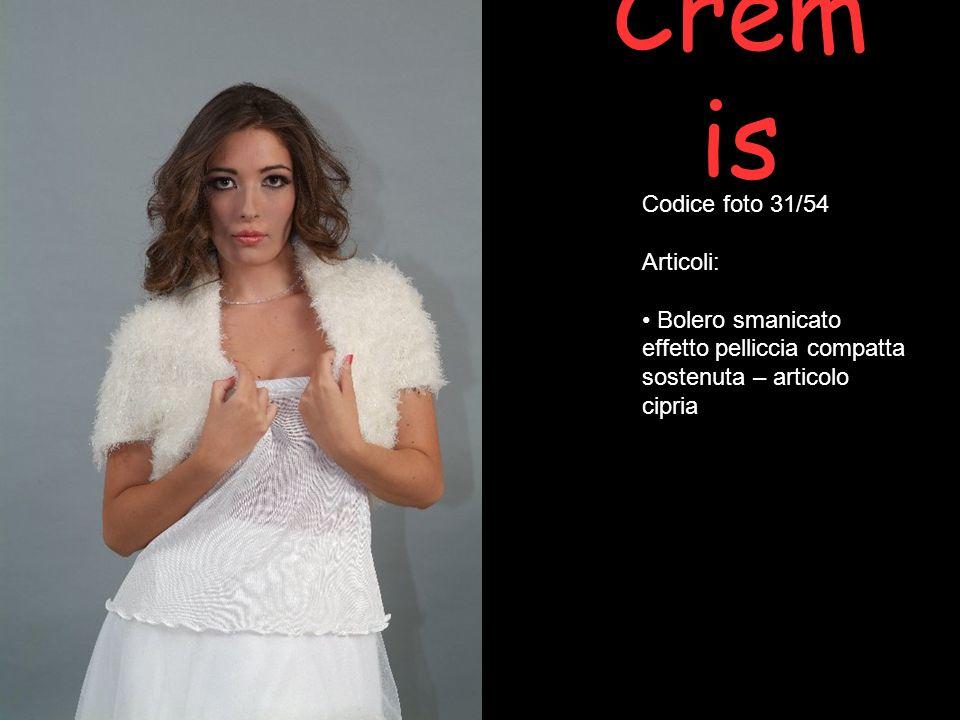 Cremis Codice foto 31/54 Articoli: