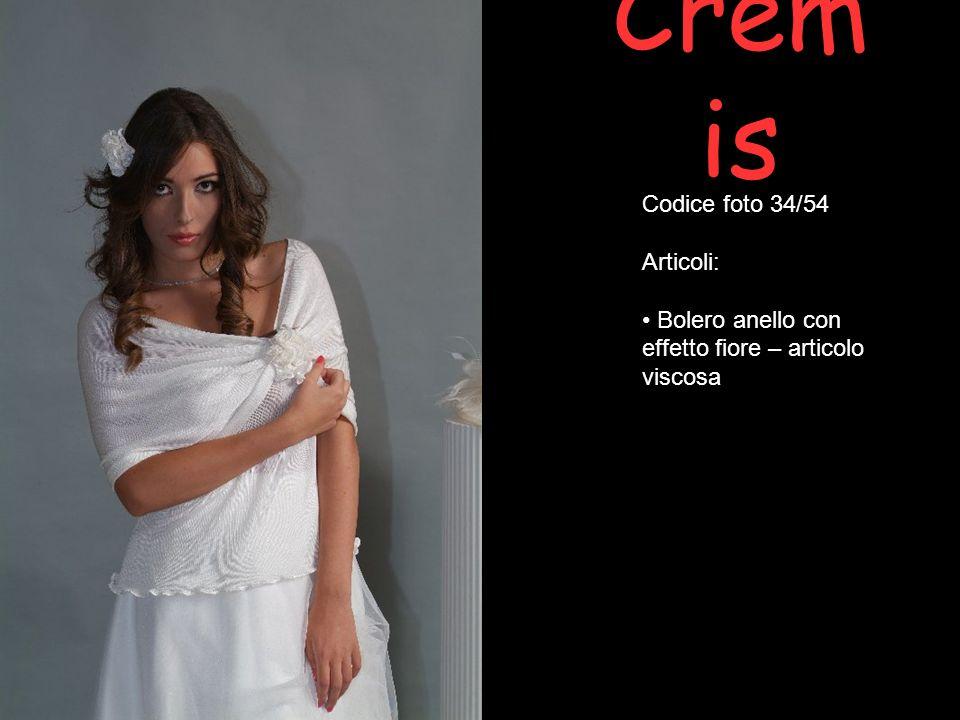 Cremis Codice foto 34/54 Articoli: