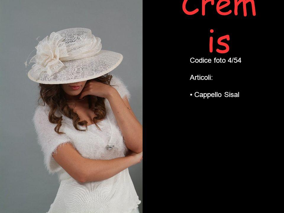 Cremis Codice foto 4/54 Articoli: Cappello Sisal