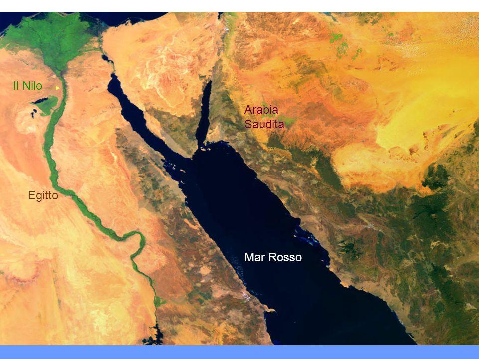 Il Nilo Arabia Saudita Egitto Mar Rosso