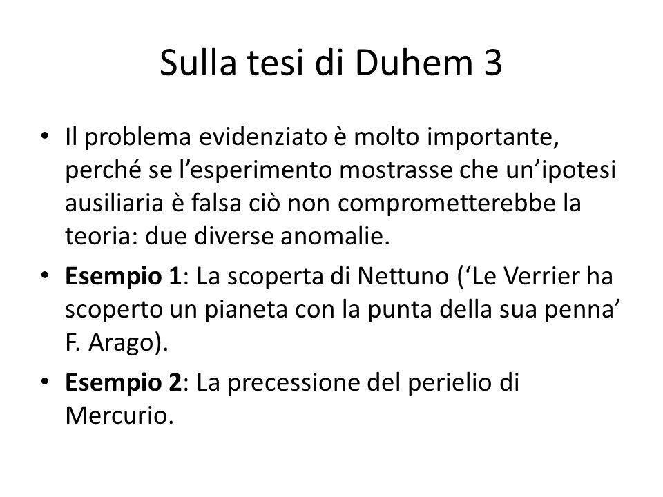 Sulla tesi di Duhem 3