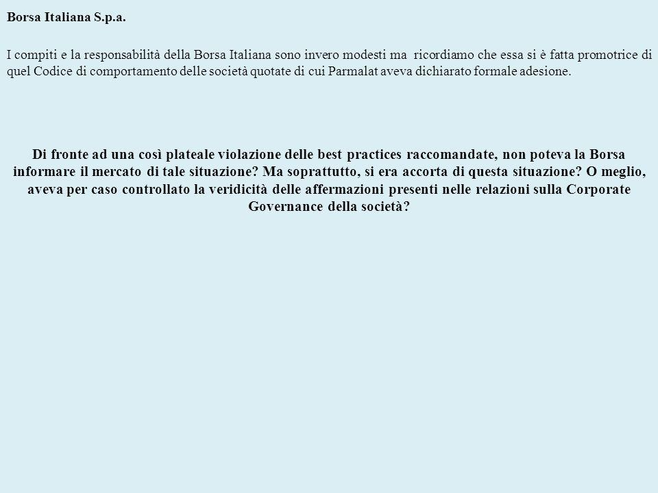 Borsa Italiana S.p.a.
