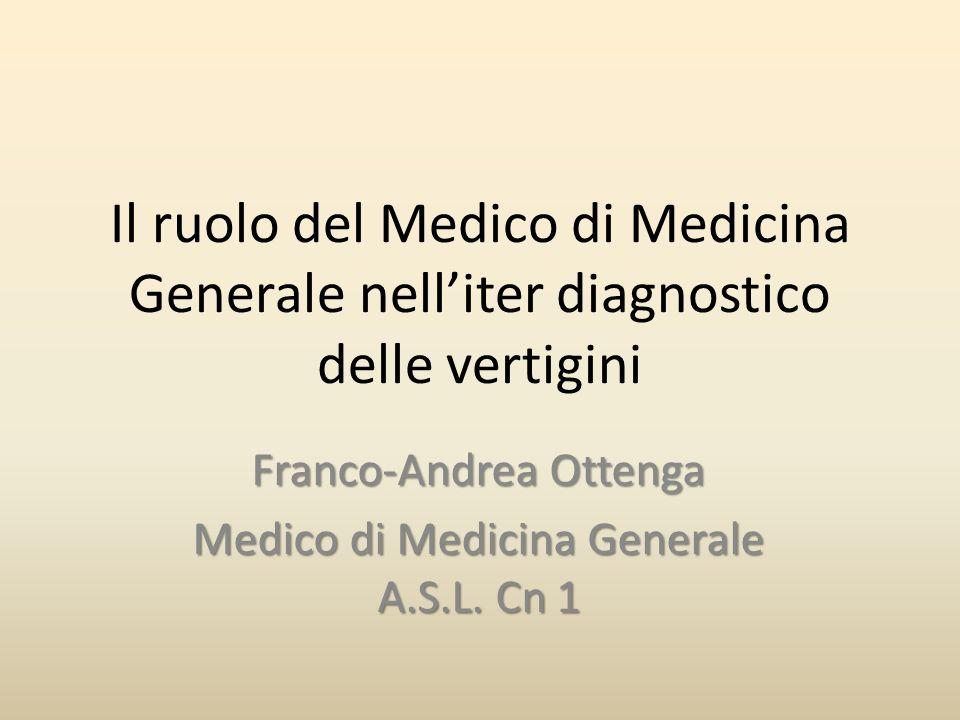 Franco-Andrea Ottenga Medico di Medicina Generale A.S.L. Cn 1