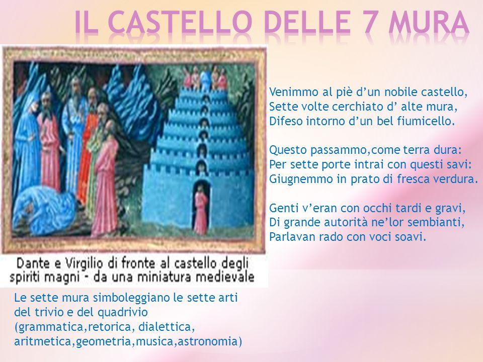 IL CASTELLO DELLE 7 MURA Venimmo al piè d'un nobile castello,