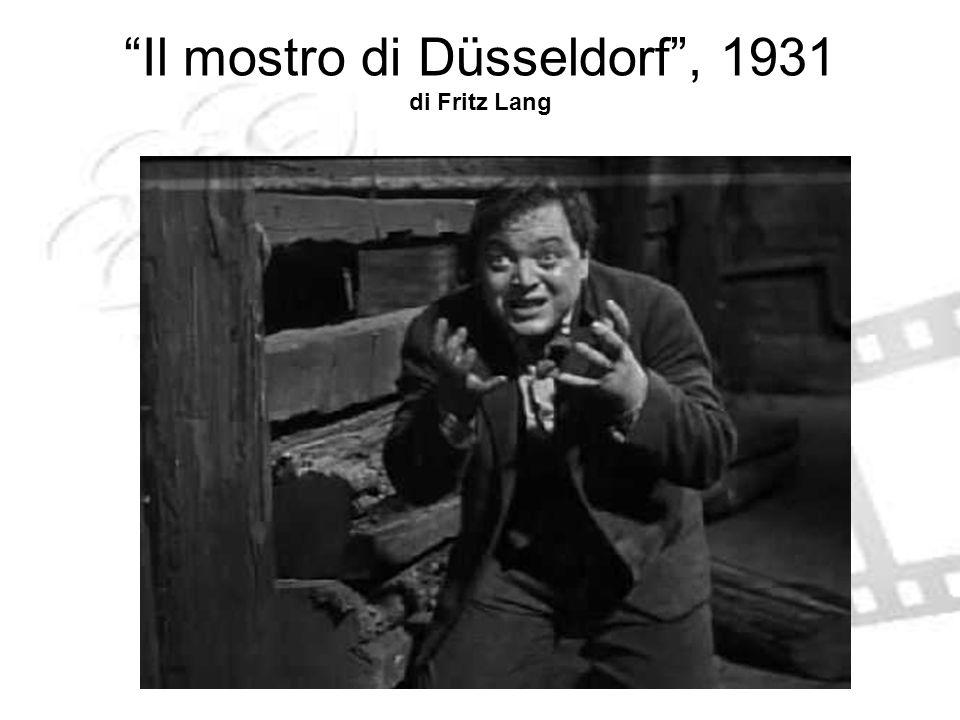 Il mostro di Düsseldorf , 1931 di Fritz Lang