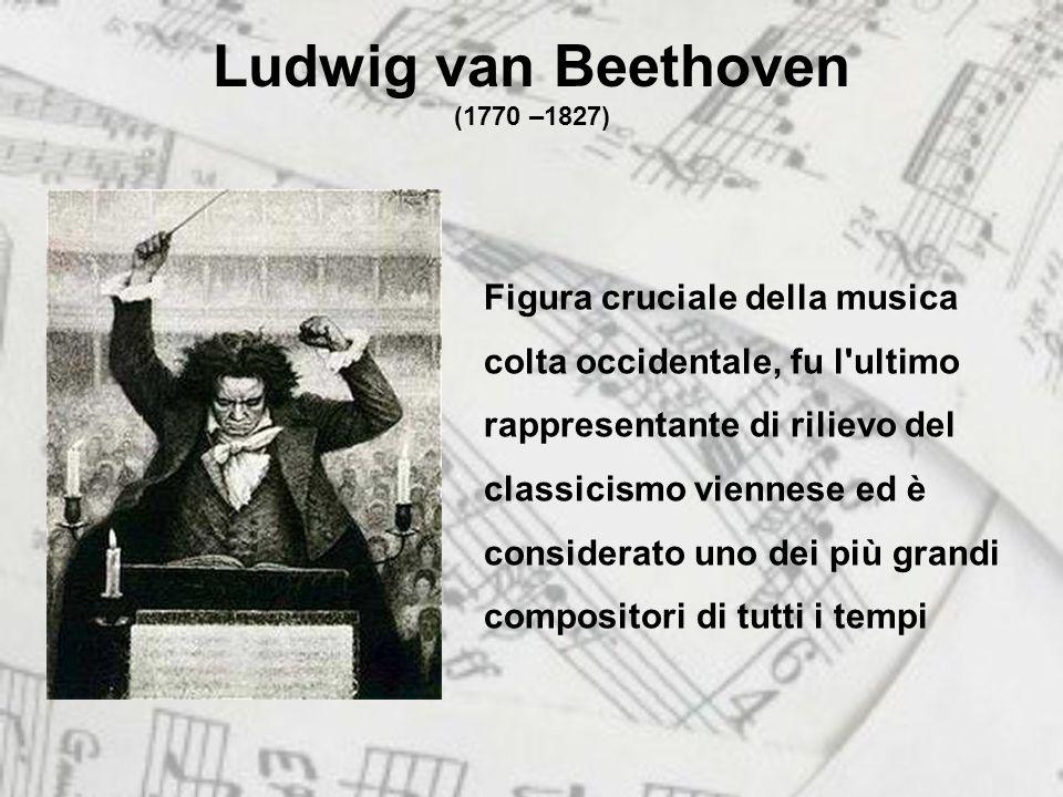 Ludwig van Beethoven (1770 –1827)