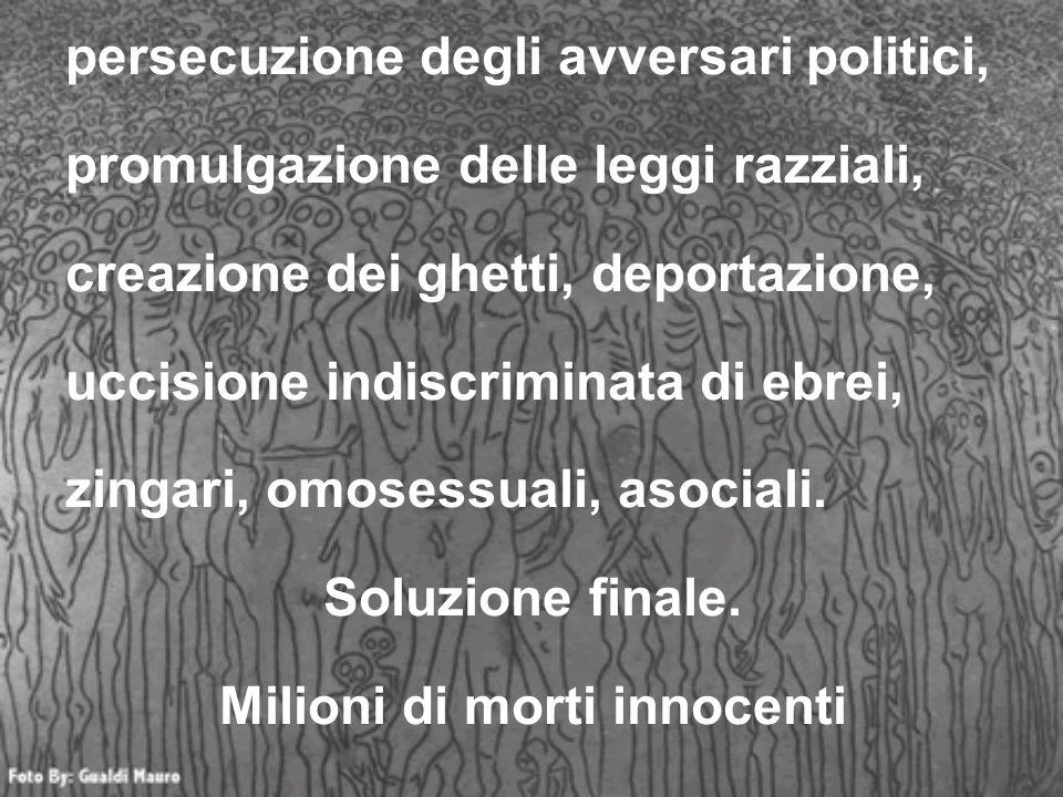 Milioni di morti innocenti