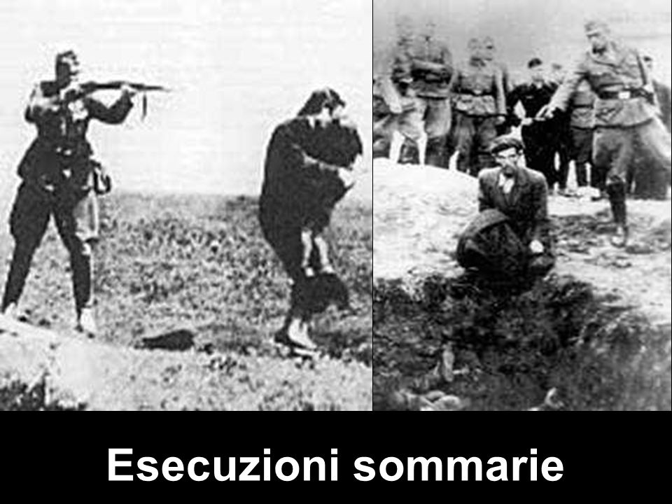 Esecuzioni sommarie