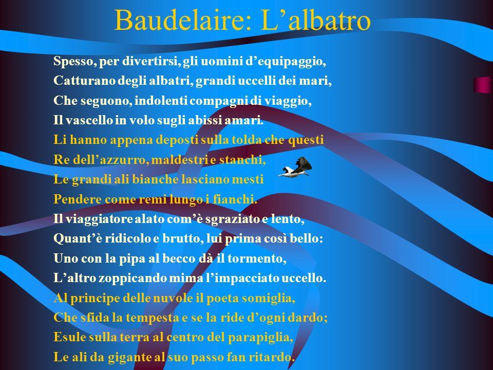 Baudelaire: L'albatro