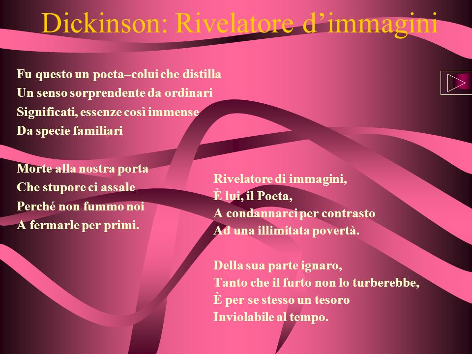 Dickinson: Rivelatore d'immagini