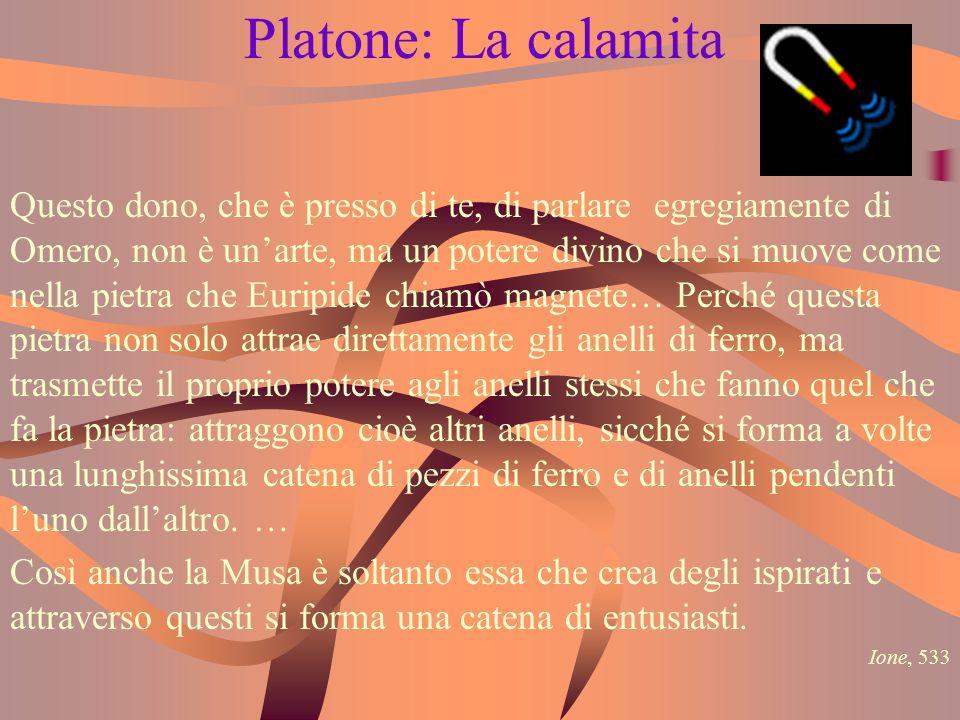 Platone: La calamita