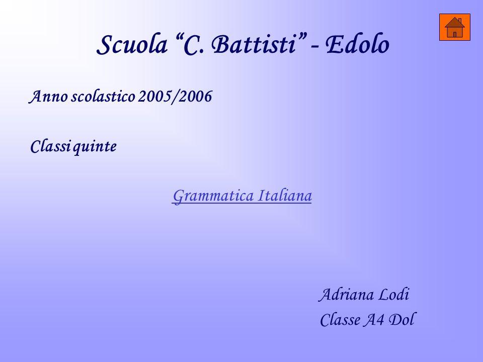 Scuola C. Battisti - Edolo