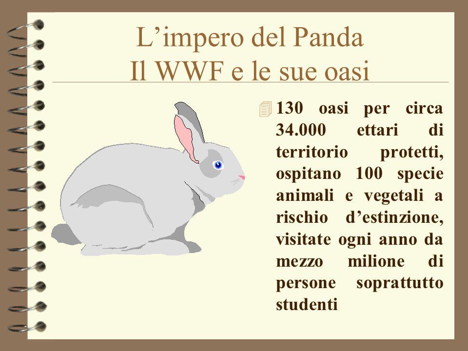 L'impero del Panda Il WWF e le sue oasi