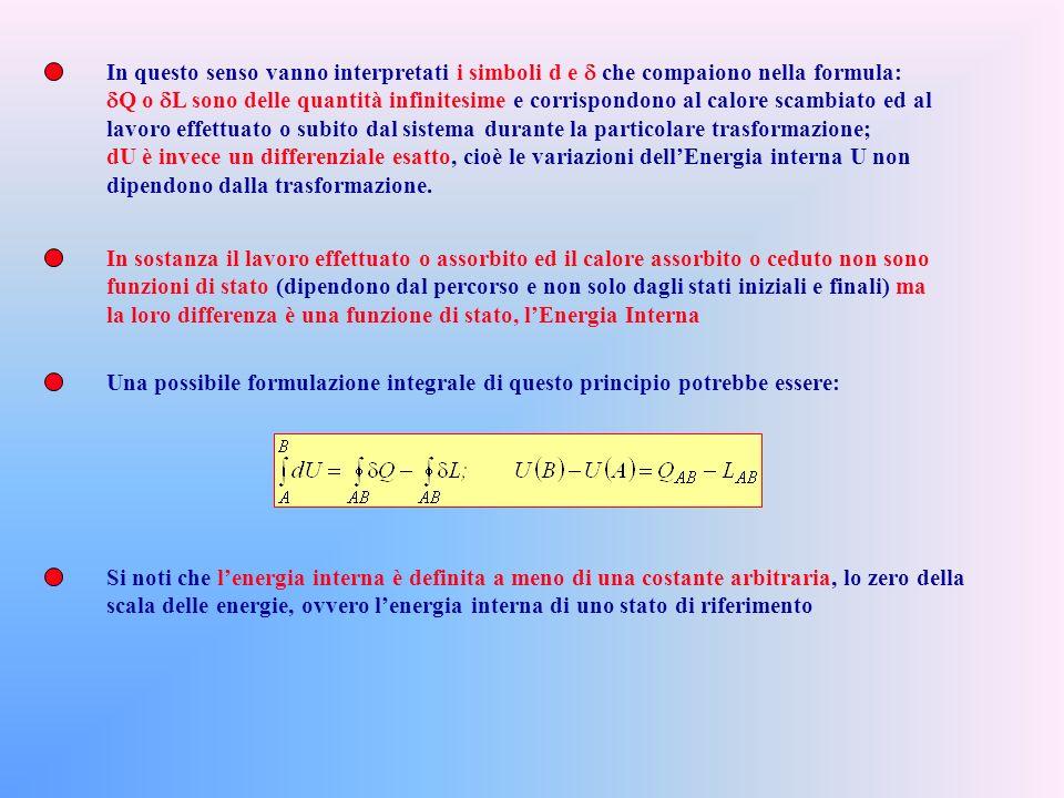 In questo senso vanno interpretati i simboli d e d che compaiono nella formula:
