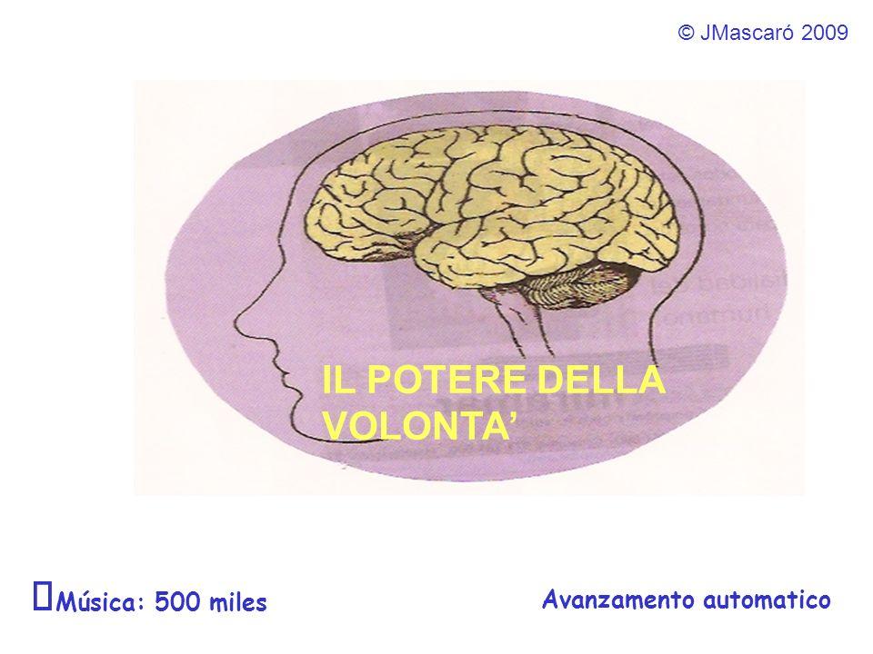 ¯Música: 500 miles IL POTERE DELLA VOLONTA' Avanzamento automatico