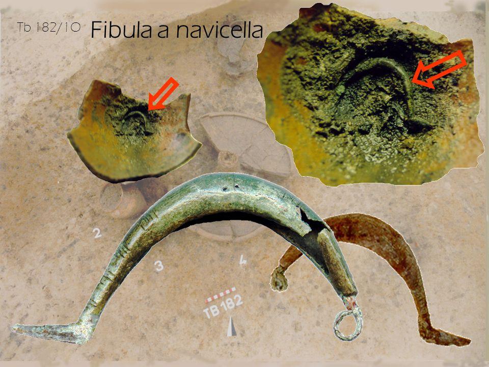 Fibula a navicella Tb 182/1O