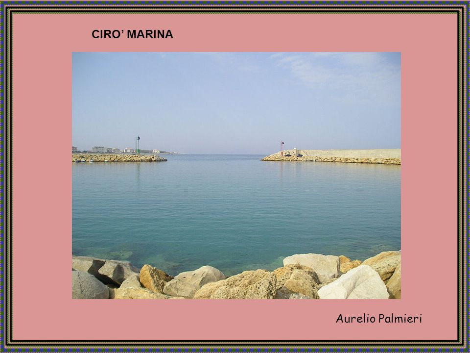 CIRO' MARINA Aurelio Palmieri