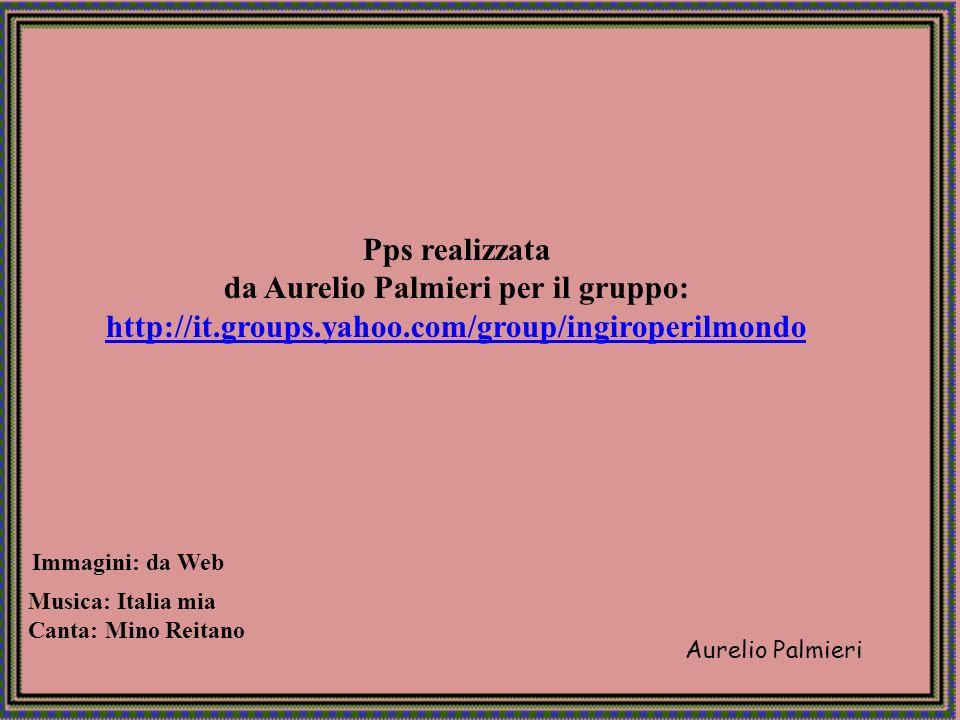 da Aurelio Palmieri per il gruppo: