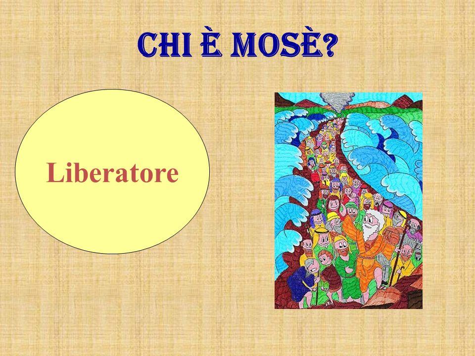 Chi è Mosè Liberatore