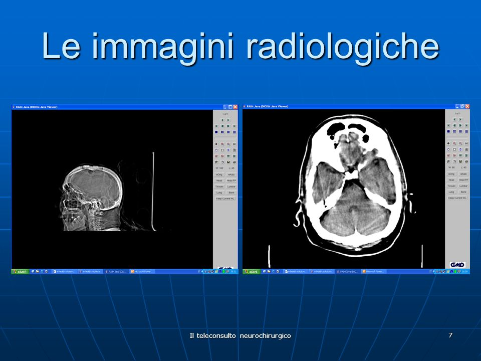 Le immagini radiologiche