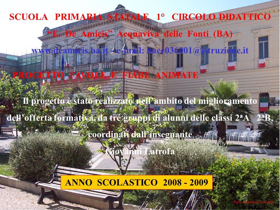 SCUOLA PRIMARIA STATALE 1° CIRCOLO DIDATTICO