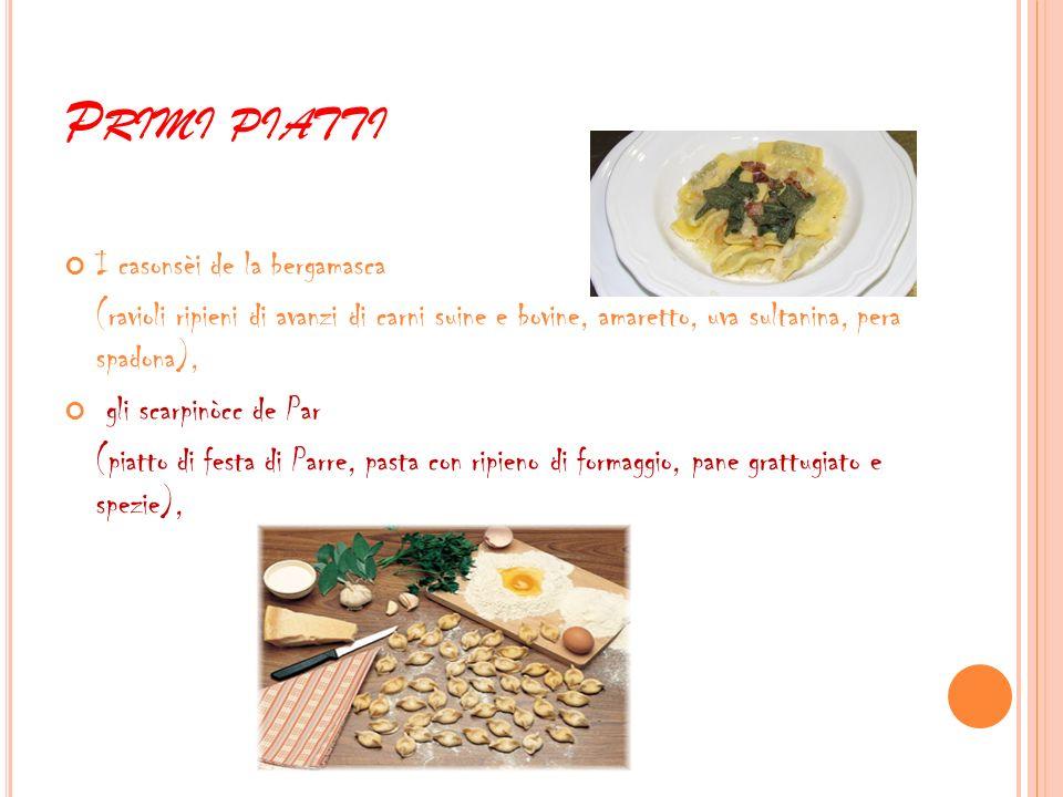Primi piatti I casonsèi de la bergamasca