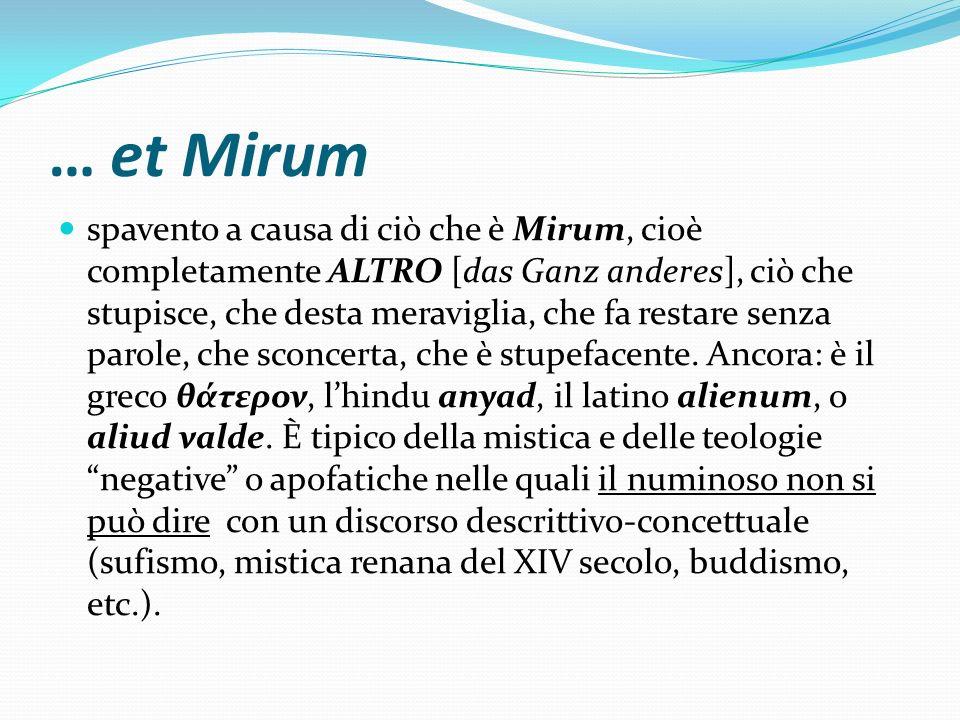 … et Mirum
