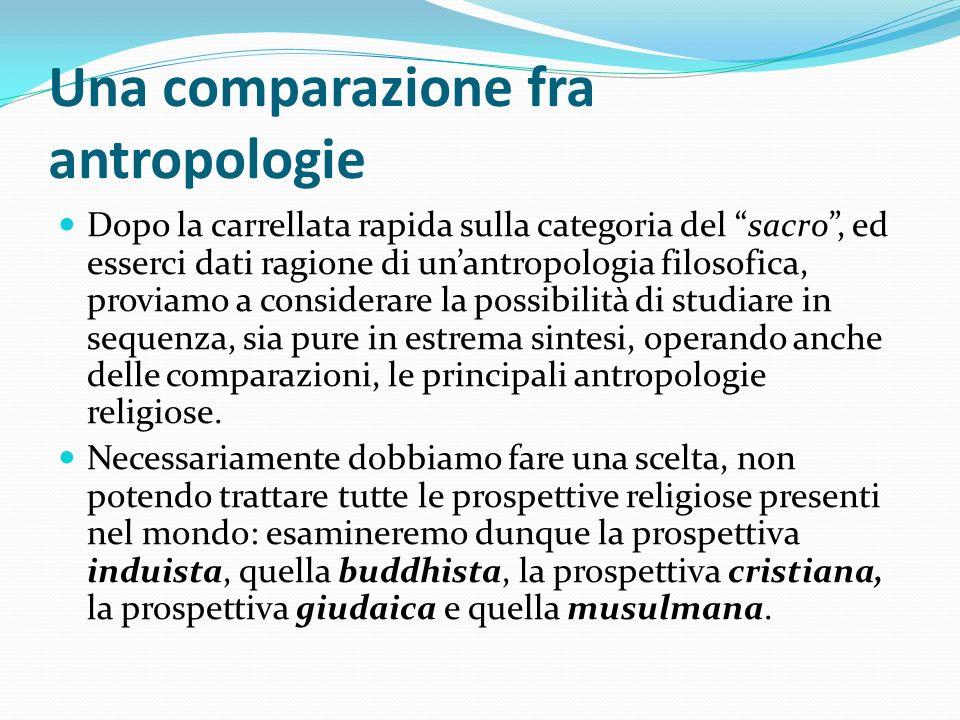 Una comparazione fra antropologie