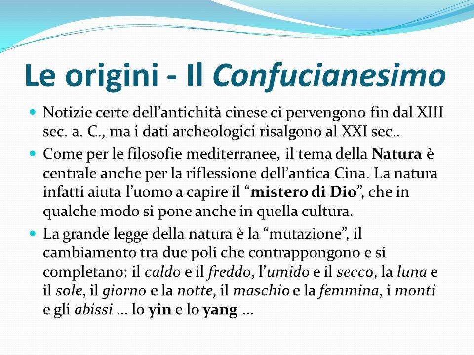 Le origini - Il Confucianesimo
