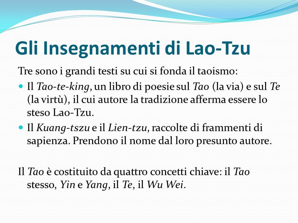 Gli Insegnamenti di Lao-Tzu