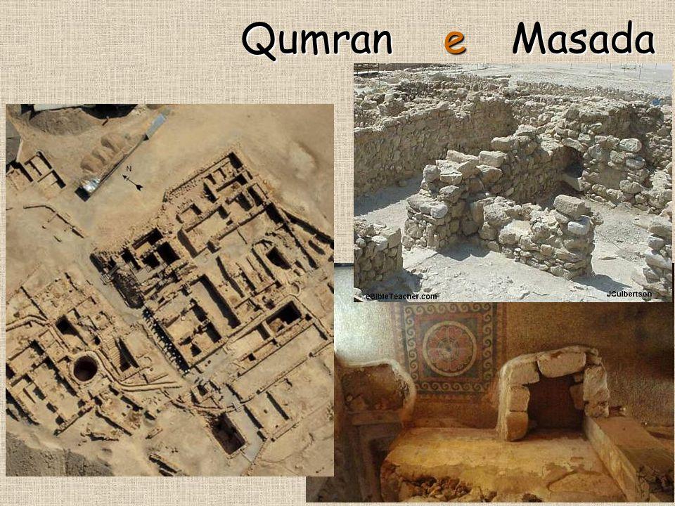 Qumran e Masada