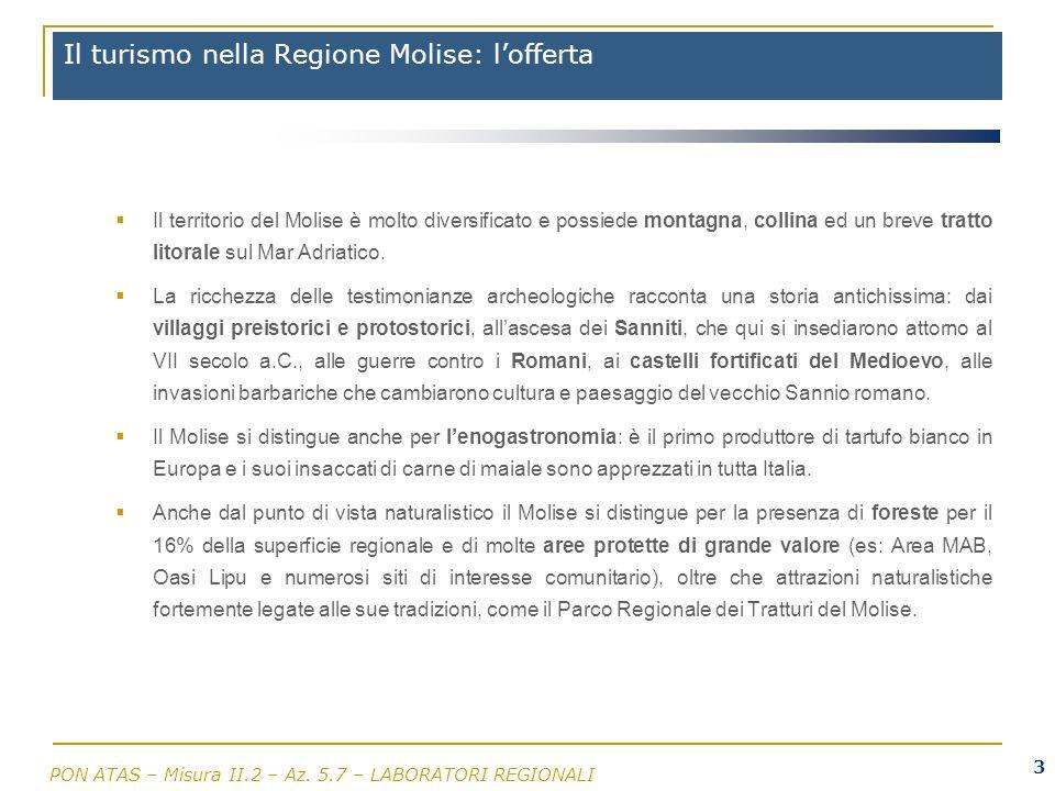 Il turismo nella Regione Molise: l'offerta