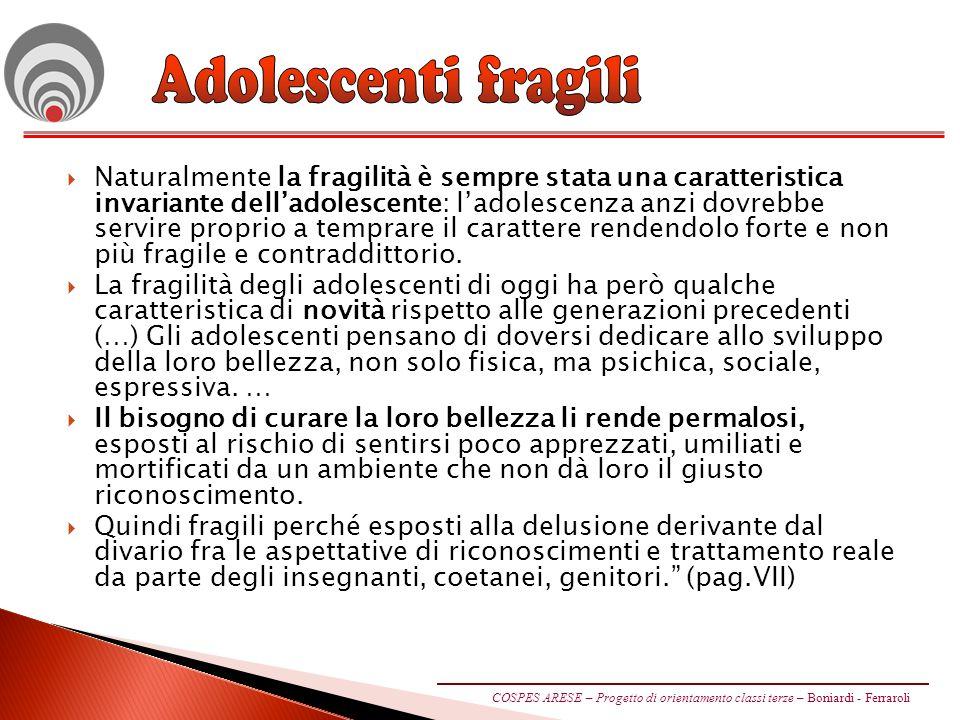 Adolescenti fragili