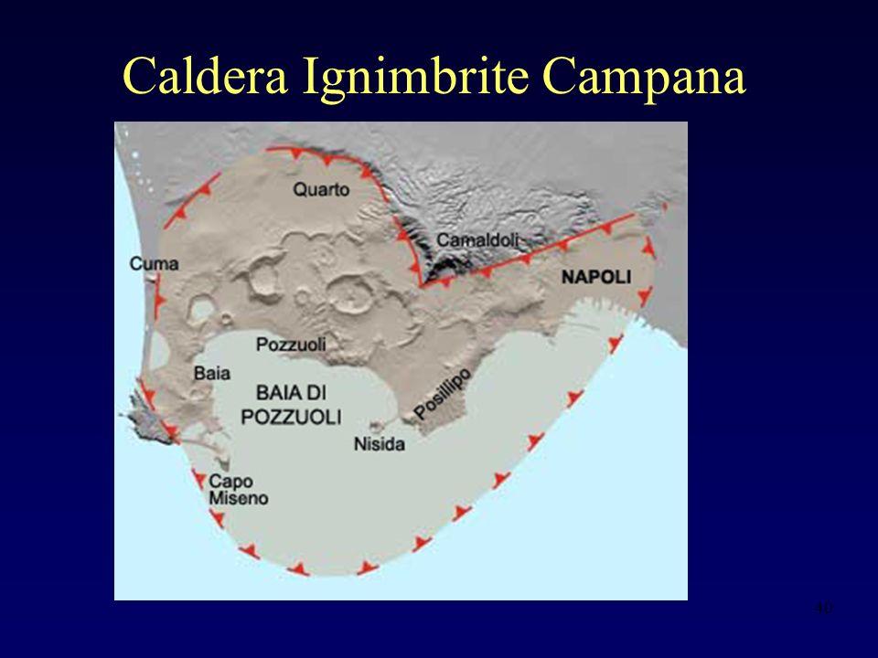 Caldera Ignimbrite Campana