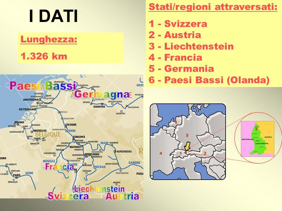 I DATI Paesi Bassi Germagna Francia Liechtenstein Svizzera Austria