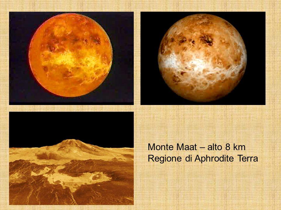 Monte Maat – alto 8 km Regione di Aphrodite Terra