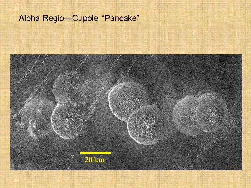 Alpha Regio—Cupole Pancake