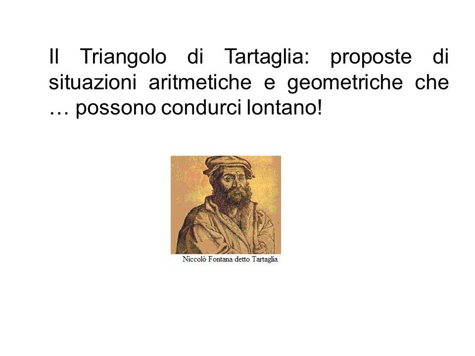 Il Triangolo di Tartaglia: proposte di situazioni aritmetiche e geometriche che … possono condurci lontano!