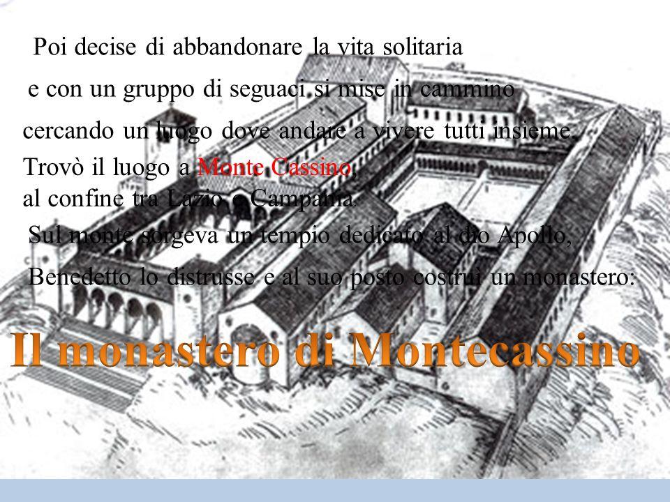Il monastero di Montecassino