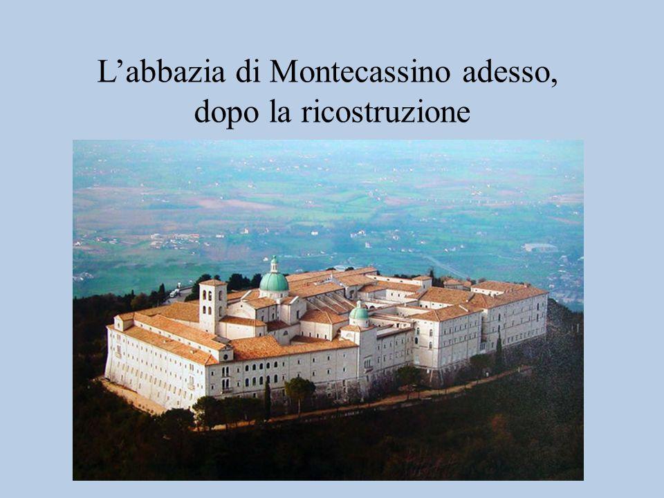 L'abbazia di Montecassino adesso,