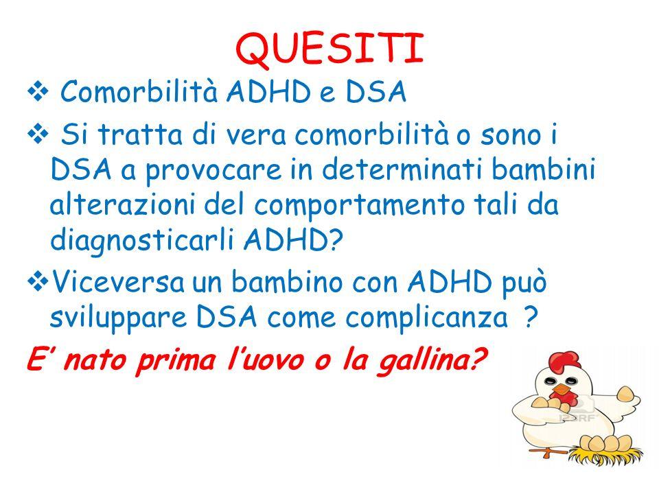 QUESITI Comorbilità ADHD e DSA