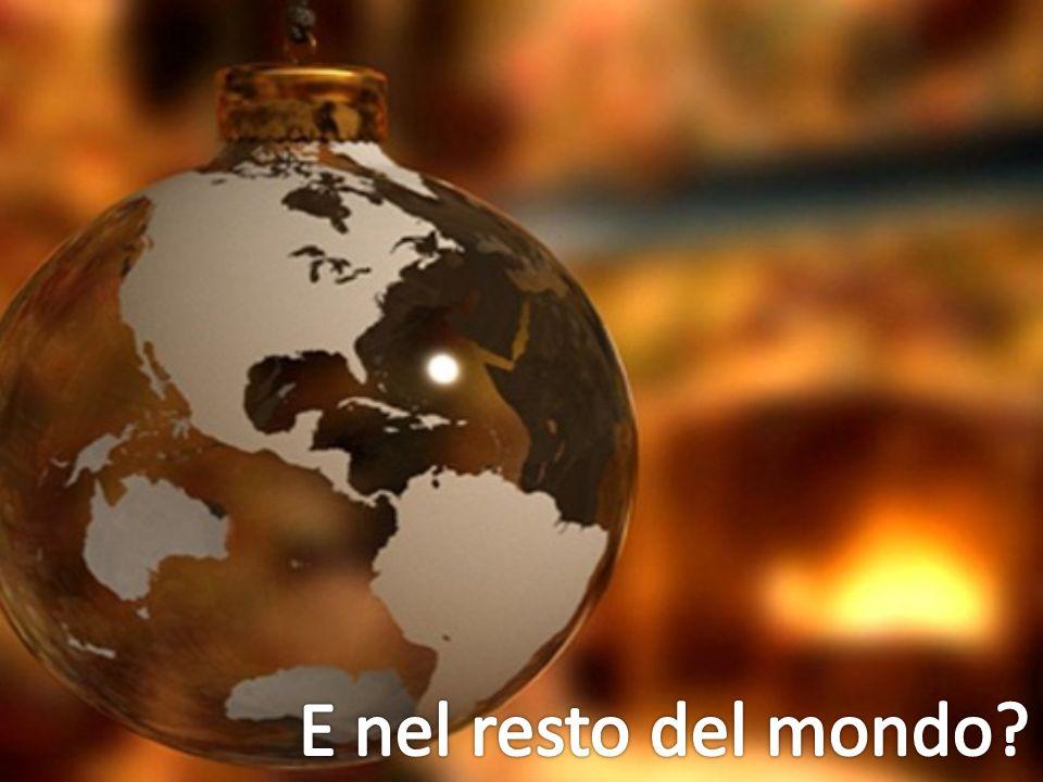 E nel resto del mondo