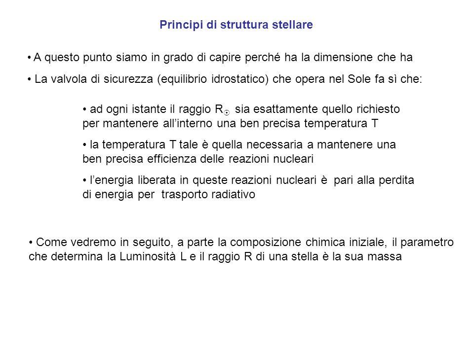 Principi di struttura stellare