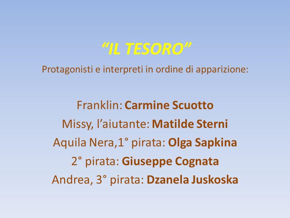 IL TESORO Franklin: Carmine Scuotto