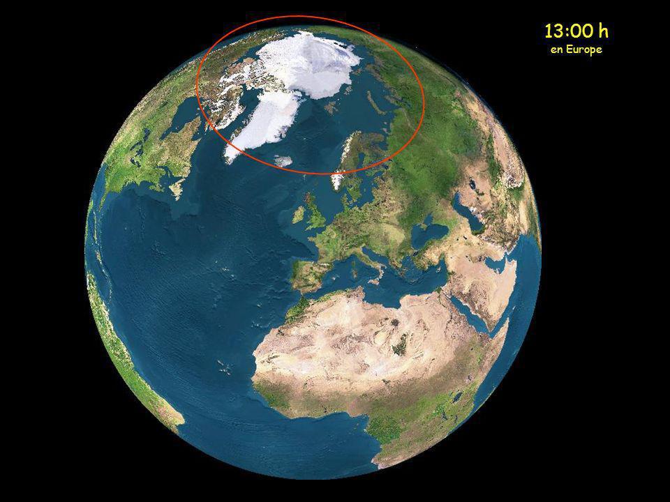 13:00 h en Europe
