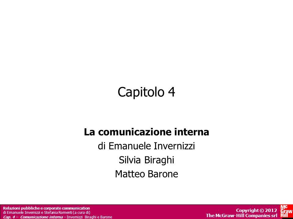 La comunicazione interna