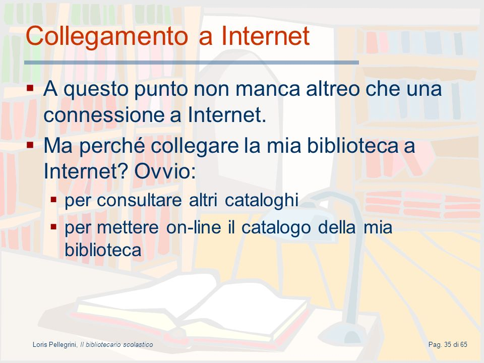 Collegamento a Internet