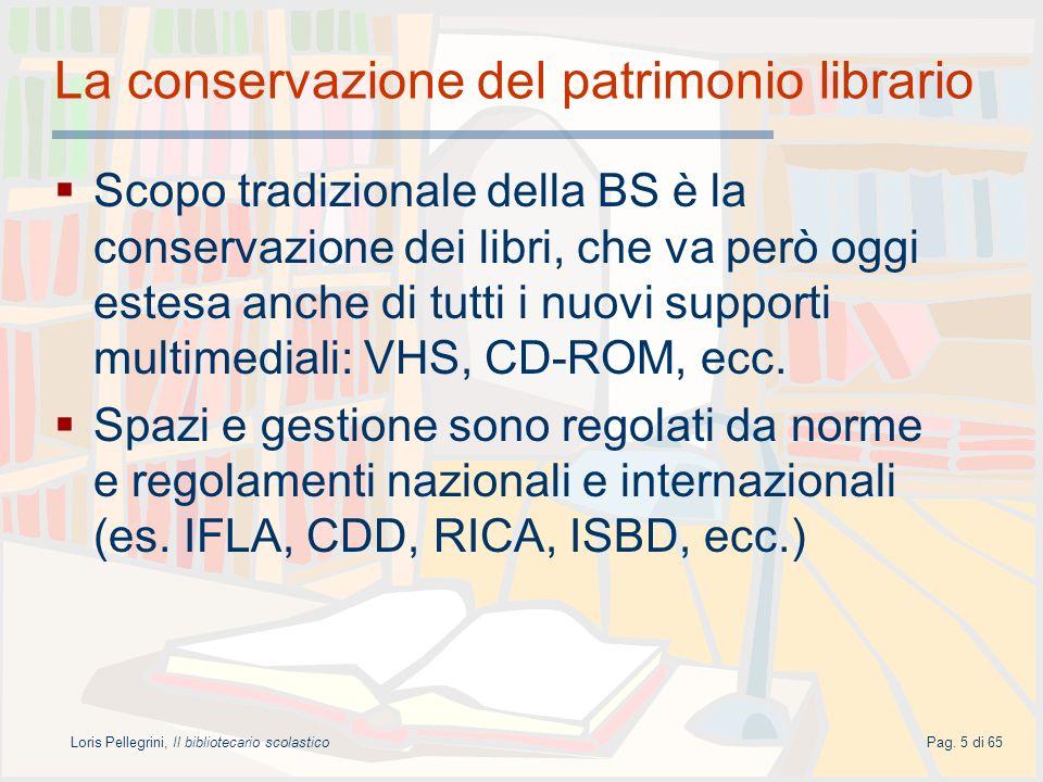 La conservazione del patrimonio librario